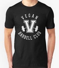 """VEGAN BARBELL CLUB"" Men's t-shirt"