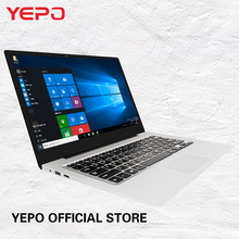 YEPO 737T6 15.6 inch laptop Intel Cherry Trail Quad Core a laptop 4GB RAM 64/128GB Matte Screen Bluetooth 4.0 Gen8 HD Notebook