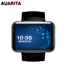 2017 New DM98 Bluetooth Smart Watch Android 4.4 OS 3G Smartwatch Phone MTK6572 Dual Core 1.2GHz 4GB ROM With Camera WCDMA GPS