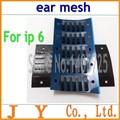 Genuino Original adhesivo Ear Speaker auricular Anti del polvo pantalla de malla para el iPhone 6/6 + 4.7 / 5.5 pulgadas reemplazo