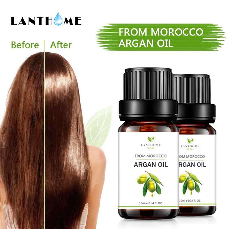 Pure Natural Argan Moroccan Oil Hair Care Essential Hair Shampoo Professional Hair Oil Treatment Products Mask for Hair
