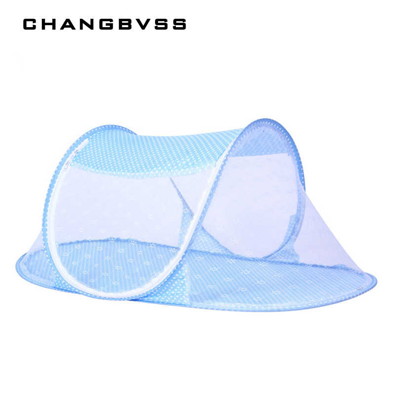 Pink Blue Baby Bed  Mosquito Net,Crib Cot Insect, Mosquito Netting Cibinlik,Portable Mosquito Nets Tent Newborn Toddler Bed Net