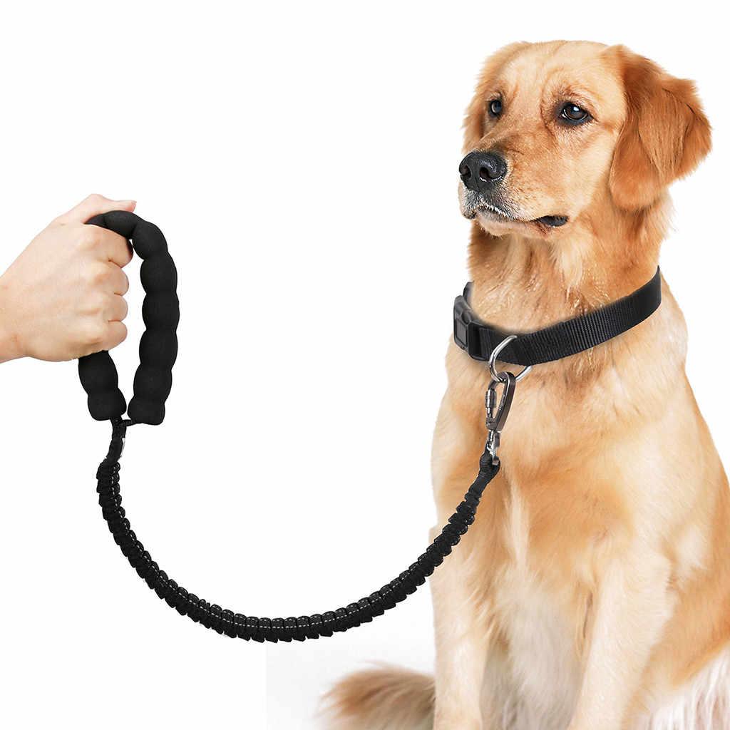 Trsnser 犬ハーネスペット高弾性犬のチェーン牽引ロープテレスコピック牽引ベルトロープビッグ犬の鎖安全 19June17 p30