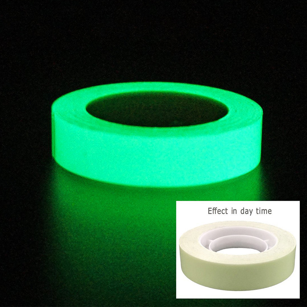 Back To Search Resultssecurity & Protection Reflective Material Reflective Tapes Glow Self-adhesive Sticker Luminous Fluorescent Glowing Tapes Dark Striking Warning Tape Clearance Price