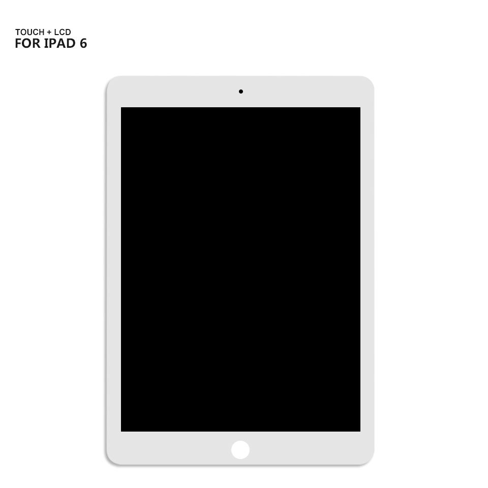 For Ipad 6 LCD Display Screen Touch Panel Glass Assembly For IPad Air 2 Lcd A1566 A1567 LCD Display