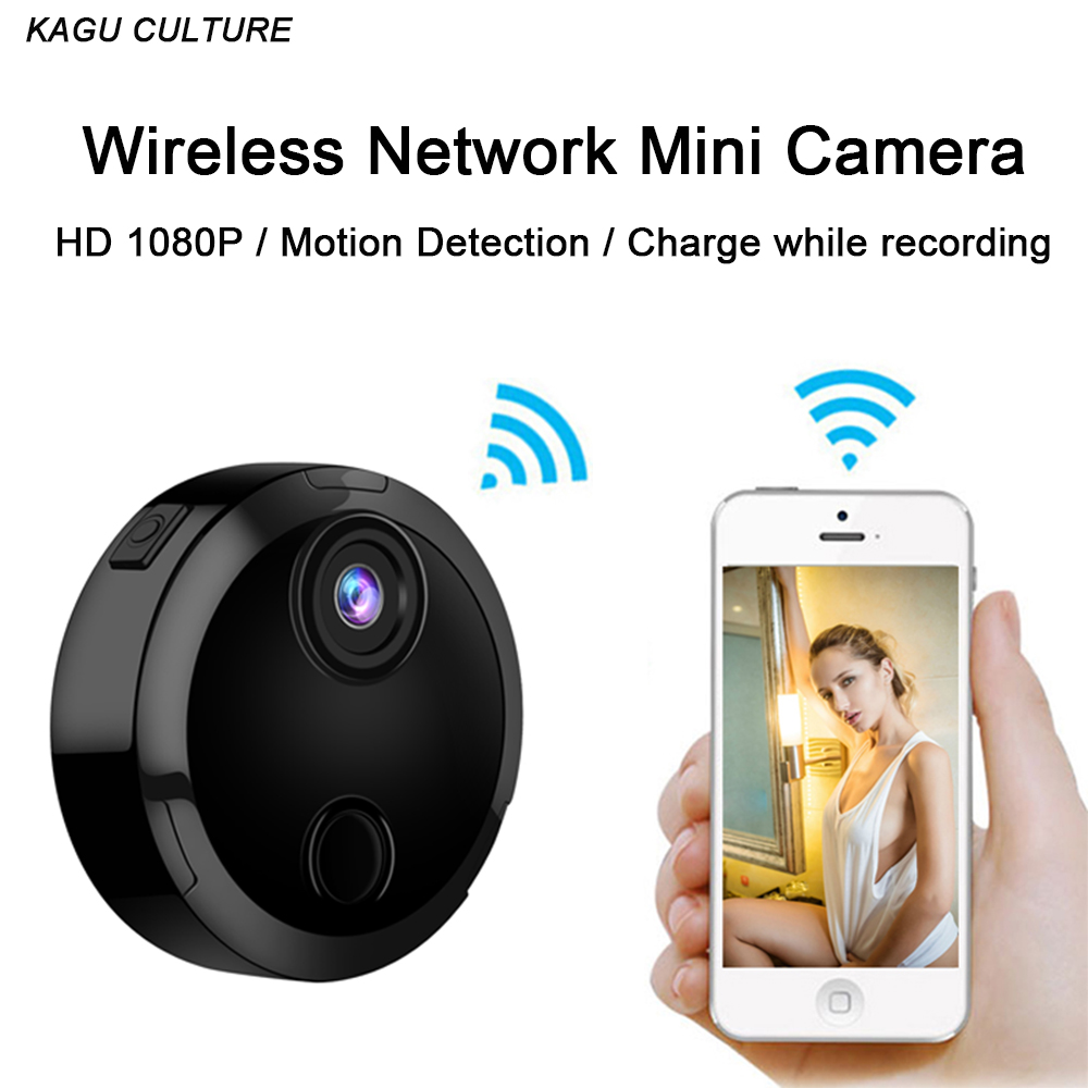 Wifi Mini Camera HD 1080P Micro IP Network Camcorder 12 Infrared Night Vision Motion Sensor Charge While Recording Car Sport DV