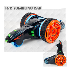 MKB 604 Mini RC Car Cars 4CH Four Wheel Foldable Trick Car Double-sided Falling RC 3D Pull Deformation High-speed With LED Light