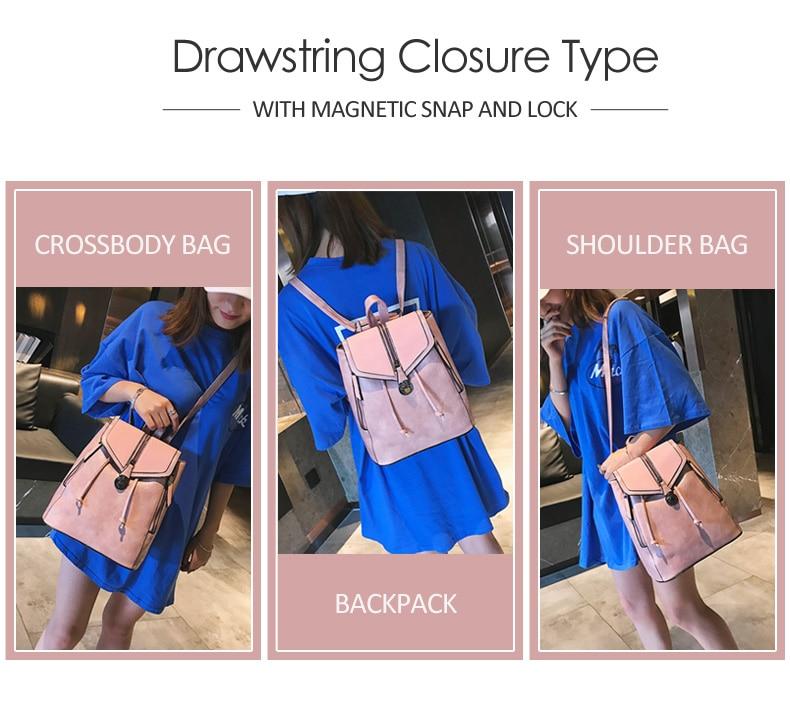 HTB1hHnUbL1H3KVjSZFBq6zSMXXaK Vintage Matte Leather Women Backpacks High Quality Multifunctional Shoulder Bag Female Girls Backpack Retro Schoolbag XA533H
