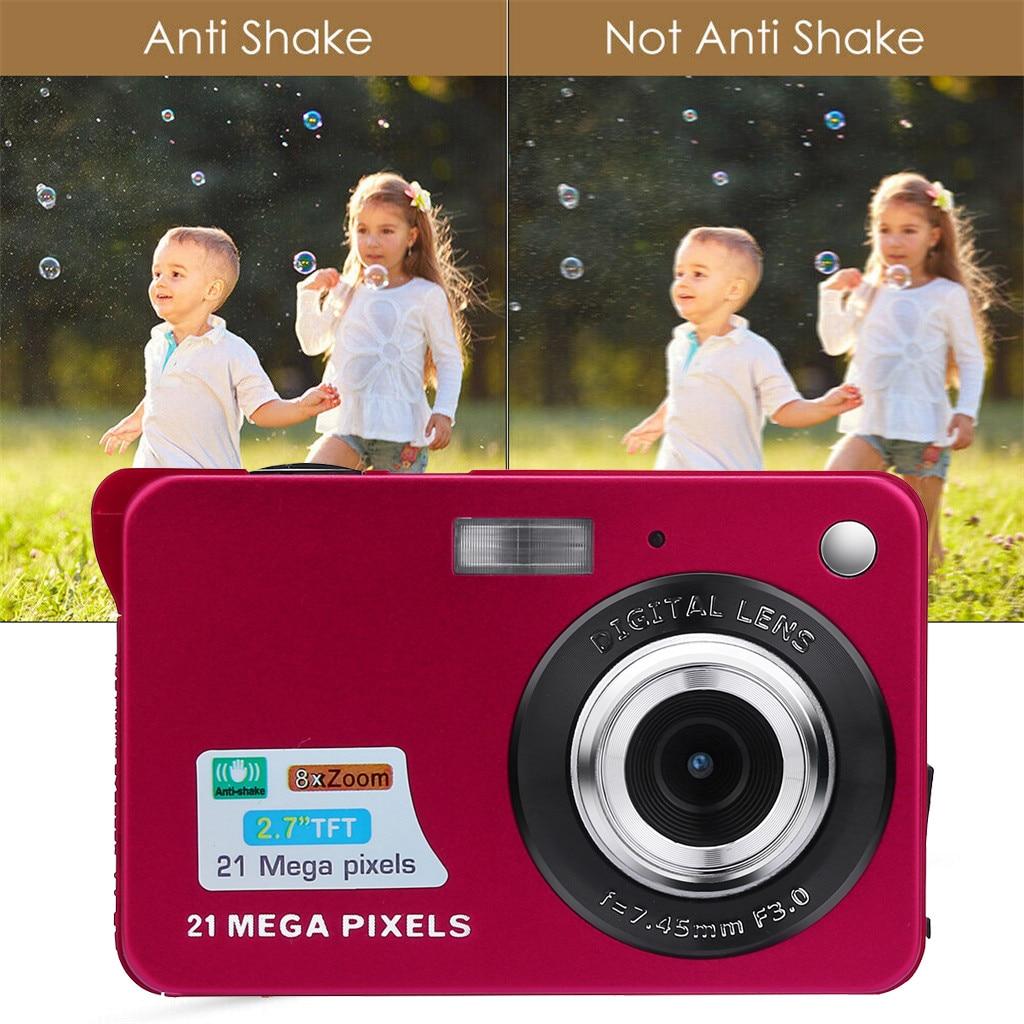 HTB1hHnVX.GF3KVjSZFmq6zqPXXaB Digital Cameras 2019 2.7HD Screen Digital Camera 21MP Anti-Shake Face Detection Camcorder 8X digital zoom with Microphone c0612