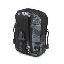 Beg Taktikal Tentera Beg Camping Lengan Berkemah untuk Sistem Molle Ketenteraan Kembara Memburu Backpack Pinggang Tentera