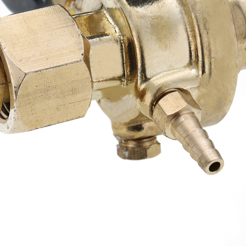 Image 5 - Brass CO2 Argon Meter Reductor Carbon Dioxide Regulator Mini Pressure Reducer Mig Flow Control Valve Used For Welding Or MAGValve   -