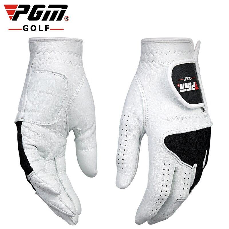 Prix pour Véritable PGM Gants De Golf Hommes respirant gants en peau de mouton super slip seule main gauche et droit livraison gratuite
