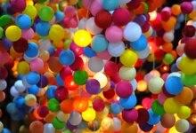 Laeacco Colorful Balloons Birthday Party Celebration Anniversary Decor Child Portrait Photo Backgrounds Backdrops Studio