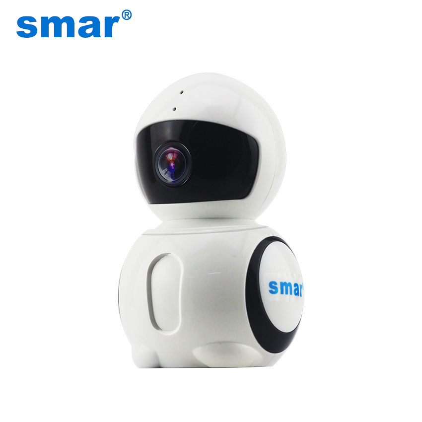 smar Official Store Smar 180 Degree Panoramic Camera 960P 1.3MP HD Wireless IP Camera wi-fi Baby Monitor IP Network Camera CCTV Home Security