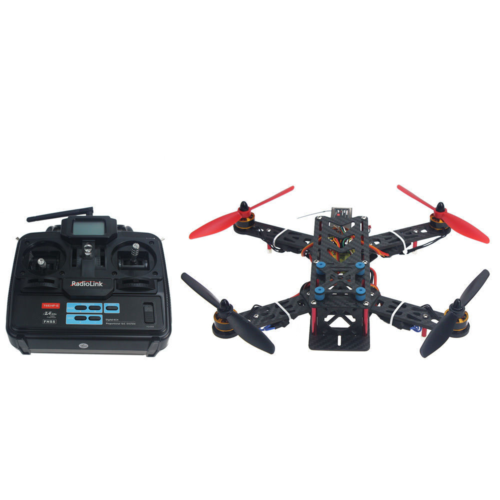 JMT Assembled Full Kit 250mm Q250 PRO Carbon Fiber RFT RC Drone Quadcopter Accessories Spare Parts No Battery F11858-N jmt kingkong rc drone quadcopter carbon fiber 90gt frame