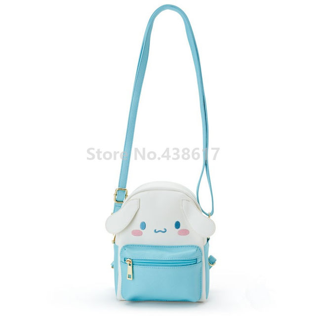 96436e5277f6 New Cute Hello Kitty My Melody Kuromi Cinnamorol Girls PU Leather Shoulder  Messenger Bag Small Back Pack Crossbody Women Bags