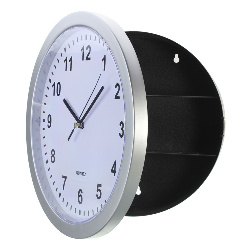 New Stylish Hot Selling Special Offer Safe Wall Clock Safe Container Box For Money Jewelry Storage Home Decoration great wall safe suv g5 новый
