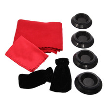 1 Set Grand Piano Cleaning Kit Care Keyboard/Pedal Cover Cleaning Caster