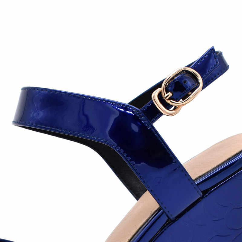 MORAZORA 2019 yeni varış kadın sandalet toka kama platform ayakkabılar katı renkler yaz ayakkabı moda parti balo ayakkabı kadın