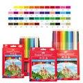 Faber Castell Colored Brand Lapis De Cor Professionals Artist Painting Oil Color Pencil Set For Drawing Sketch Art Supplies