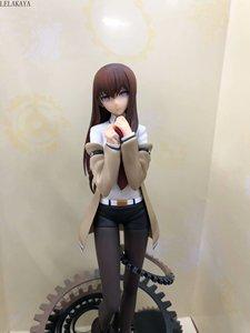 Image 4 - 1 Uds. Japoneses nuevos Anime Steins Gate 3 generación Makise Kurisu Ver. Modelo de figura de acción de PVC para chica, juguete de muñeca sexy a escala 1/7