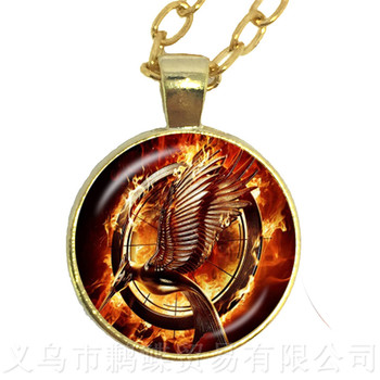 15 Style Fashion Art Gift Firefighter Fire Fighter Necklace Glass Cabochon Pendant Jewelry Wholesale Mocking Birds Sweater chain image