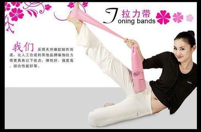 wholesale---Free shipping (24piecs) Yoga belt yoga belt tension yoga rope