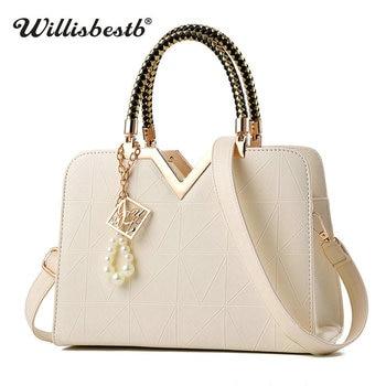 2018 New Female Summer Bag For Ladies Phone Pouch Zipper Female Handbags Flap Famous Brand Leather Women Shoulder Crossbody Bags