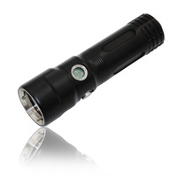 KC fire DL0106 1*V6 LED diving torch power display 1000LM 18650 or 26650 battery waterproof magnetic switch LED flashlight