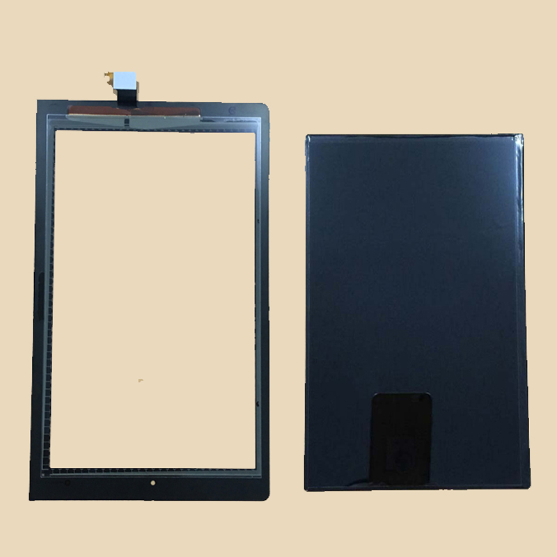 For Lenovo B8000 Yoga Tablet 10 60047 Black Touch Screen Sensor Digitizer Glass + LCD Display Screen Panel Monitor все цены