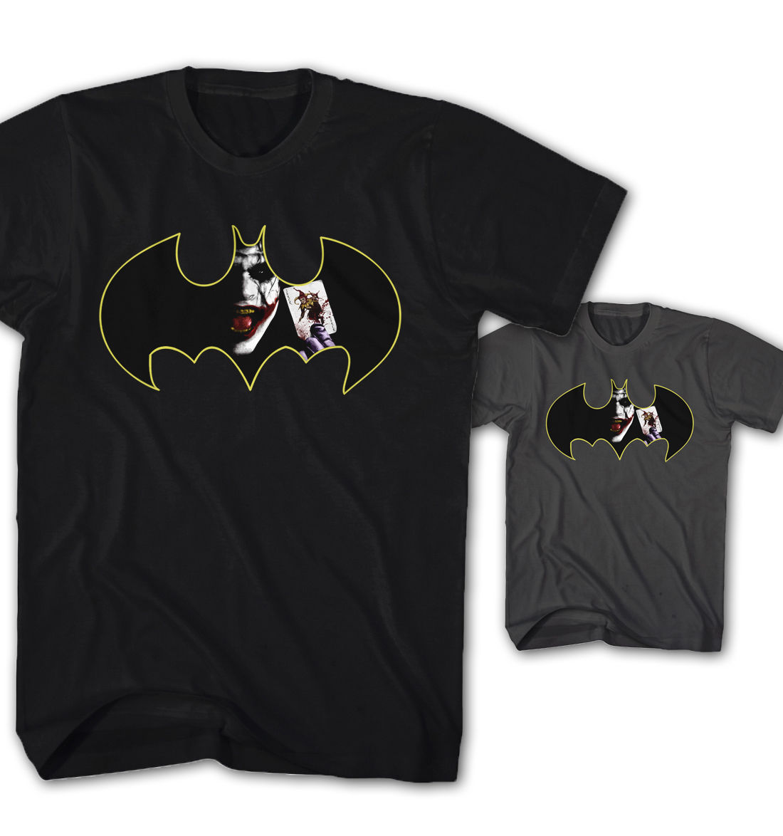 BATMAN INSPIRED DARK KNIGHT JOKER FILM MOVIE TAXI SERVICE BATMOBILE 2 T SHIRT