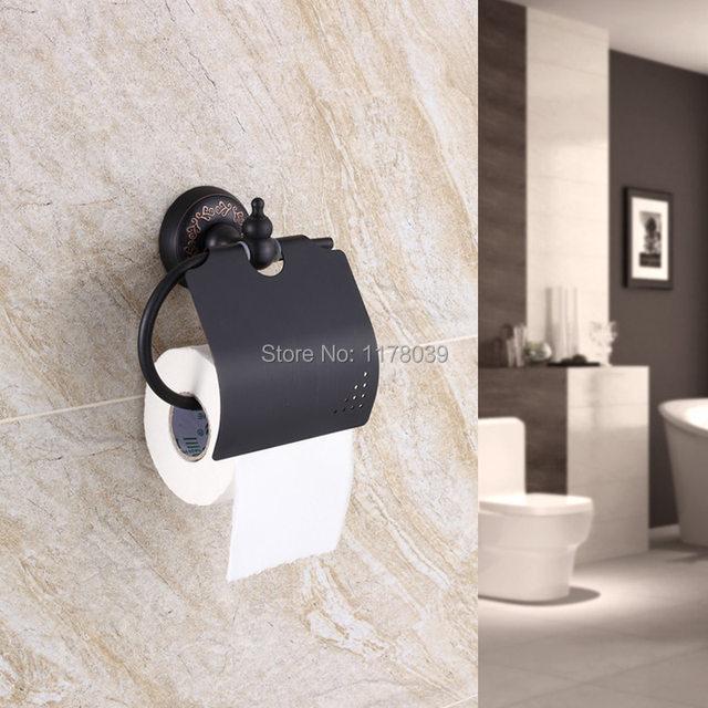 Online Shop Retro Copper Towel Rack,bronze Bathroom Shelves,Antique Toilet  Paper Holders,Black Bathroom Hardware Accessories Sets,J16547 | Aliexpress  Mobile