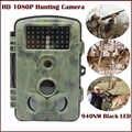 Caméra de chasse HD 1080 P 940nm noir Invisible IR Led 12MP animaux Photo pièges caméra de faune de sentier