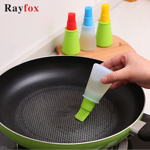 Kitchen Accessories Tools Silicone Oil Brush Basting Brushes Cake Butter Bread Pastry Brush Cooking Utensil Kitchen Gadgets BQ.(China)