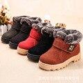 AFDSWG braun dicke warme plüsch kinder winter stiefel rot schnee stiefel kinder grün kinder stiefel mädchen braun kind schnee stiefel braun-in Stiefel aus Mutter und Kind bei