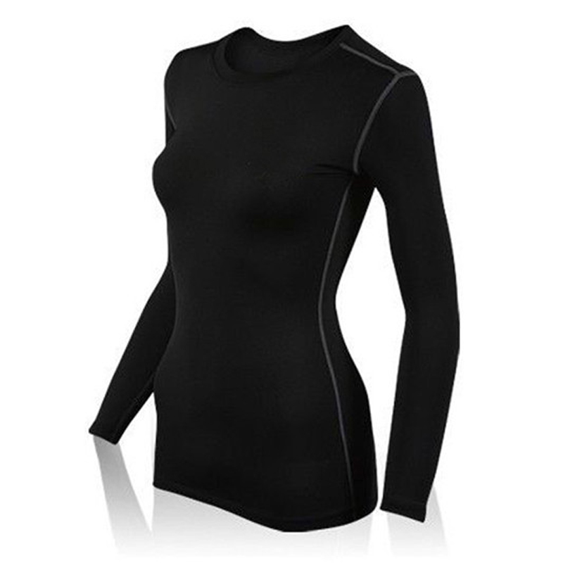 Yd59 s xxl women 39 s compression tops under base layer long for Xxl long sleeve t shirts