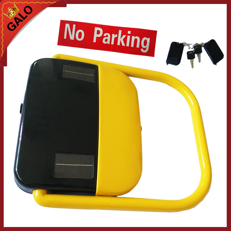 Solar system Automatic remote controlled parking lock/parking barrier/ parking space lock reserved automatic remote controlled parking lock