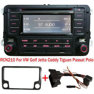 Car-Radio CADDY POLO Stereo TIGUAN PASSAT Rcn210 Bluetooth AUX GOLF Volkswagen MP3 USB