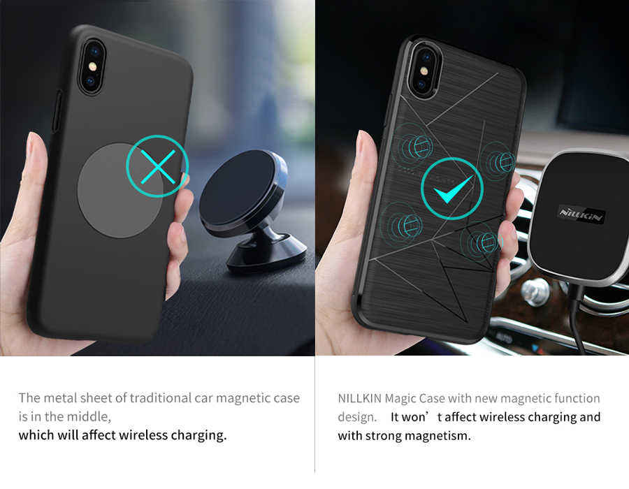 nillkin magic case iphone xs