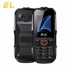 Оригинальный EL K6900 2 г телефоны большой Динамик gsm Водонепроницаемый ударопрочный мини ключ телефон Dual SIM 2000 мАч Батарея Мобильные телефоны IP68
