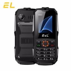 Original EL K6900 2G Phones Big Speaker GSM Waterproof Shockproof Mini Key Phone Dual Sim 2000mAh Battery Mobile Phones IP68