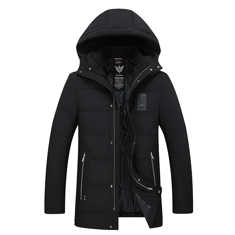 Plus Size Winter Parkas Men Down Jacket 2017 Thick Nature Warm windbreaker Loose Hooded Original Male CoatsCotton-padded clothes free shipping winter parkas men jacket new 2017 thick warm loose brand original male plus size m 5xl coats 80hfx