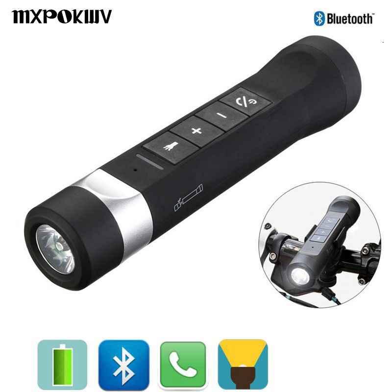 Portable Outdoor Bluetooth Speaker Multi Function Waterproof