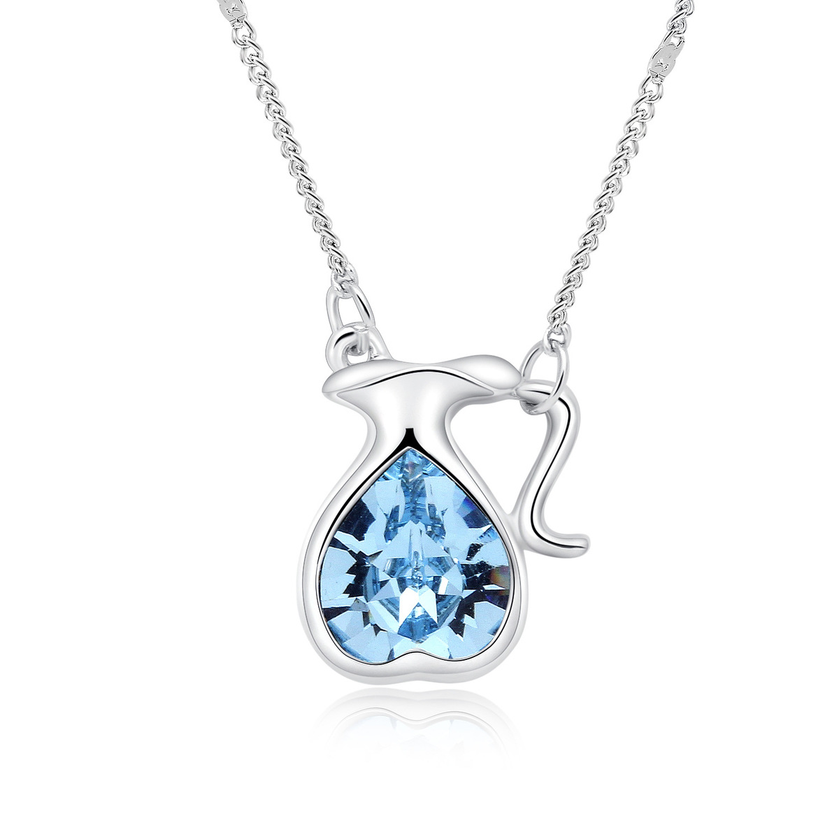 2017 New Twelve Constellation Crystal Necklace High End