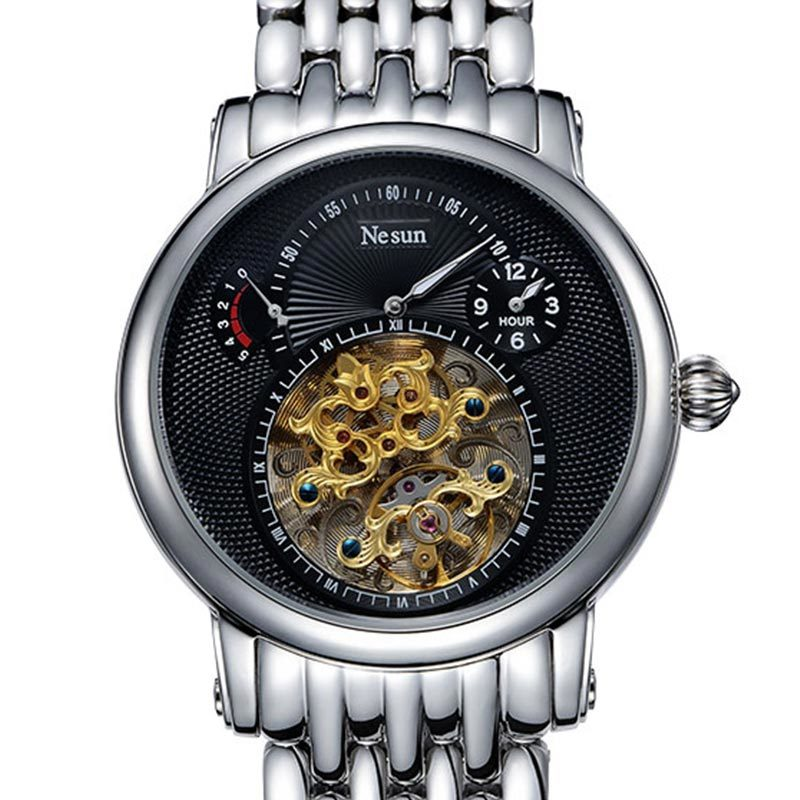 سويسرا العلامة التجارية الفاخرة نسون - ساعات رجالية