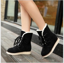 New 2016 fashion female warm ankle boots women boots snow boots and autumn winter women shoes #889