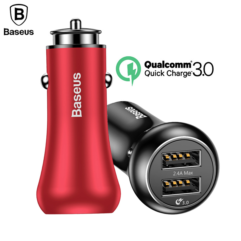 Baseus Quick Charge QC 3.0 Car Charger F