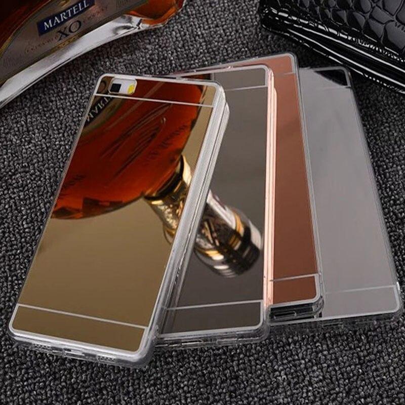 Чехол для телефона Huawei Ascend P8 p9 P10 Nova lite плюс Коврики 7 8 9 2017 <font><b>Honor</b></font> <font><b>4C</b></font> 4x5x6x7 8 V8 V9 Мягкие TPU зеркала Чехол