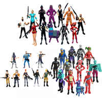 8-12cm fortress 2Battle Royale Action Figure for Children Leader Horse Raven dark voyager Fort Figure Toys Gifts Acrylic Night
