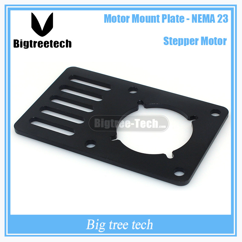 3D Printer part Motor Mount Plate for NEMA23 for Openbuilds V-Slot 90*60*3mm for CNC&Kossel With lower price 3D0270 1pcs openbuilds motor mount plate for nema 17 82 39 5 3mm aluminum alloy cnc special fixing plate for 3d printer
